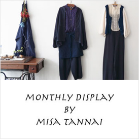 MONTHLY DISPLAY BY MISA TANNAI